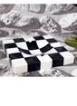 3Wdesign El Yapımı Dama Desen Mermer Kül Tablası Siyah